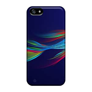 New Neon Fish Tpu Skin Case Compatible With Iphone 5/5s