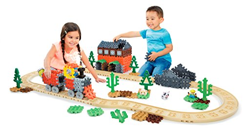 - Little Tikes Waffle Blocks Steam Train