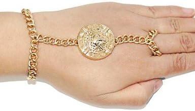 pulsera de oro camafeo vintage para mujer pulseras& brazaletes con ...