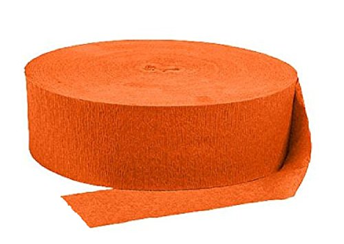 Crepe Paper Streamers Party Decorations Jumbo Roll 500 Feet Solid Colors -