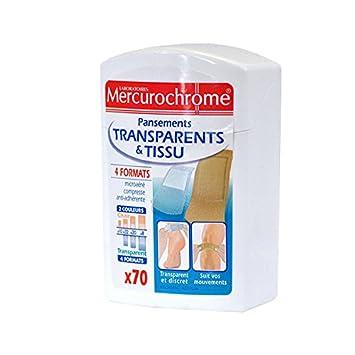 Mercurochrome Boite Pansement Mix Famille 70 unités  Amazon.fr  Hygiène et  Soins du corps 73b2ad078d74