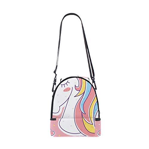 Alinlo Bolsa para para ajustable hombro el unicornio correa diseño con térmica almuerzo de el xSSwqp