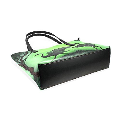 Bag Purse Cranes Leather Coosun For Handbag Tote Means And Pu Bags Women Muticolour gX1q18p