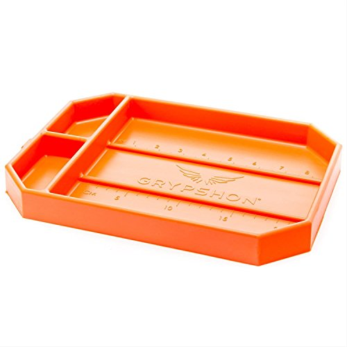 Grypmat | Non-Slip Flexible Tool Tray | Socket Organizer | Tool Box Organizer | Tool Holder | No Magnets | Easy Clean Up | As Seen On Shark Tank (Medium) (Socket Toolbox Organizer)