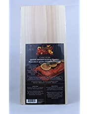 Smokin' BBQ Natural Cedar Wood Quick Smoke Grilling Planks (4 Pack)