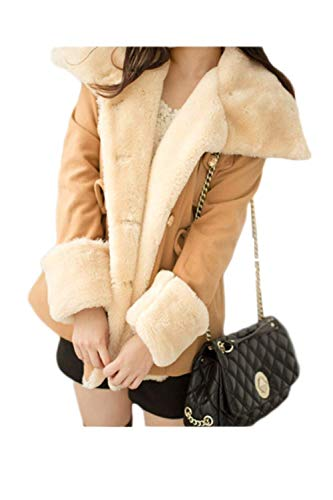 Warm Coat Longues Femme Revers Manches xIz8aH