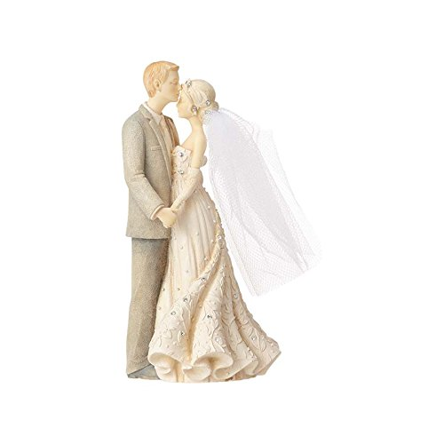 Enesco Foundations Bride and Groom Mini, 5.63