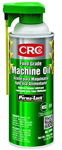 CRC 03081CS Food Grade Machine Oil, 11 oz, Clear Colorless (Pack of 12)