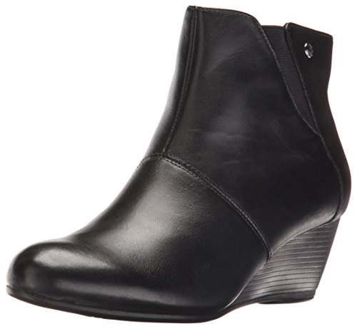 Hush Puppies Da Donna In Pelle Nera Rhea Boot