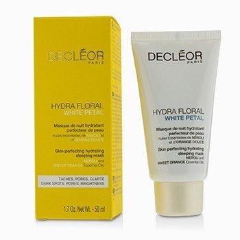 Mask Decleor White (Decleor Hydra Floral White Petal Neroli & Sweet Orange Skin Perfecting Hydrating Sleeping Mask 50ml/1.7oz)