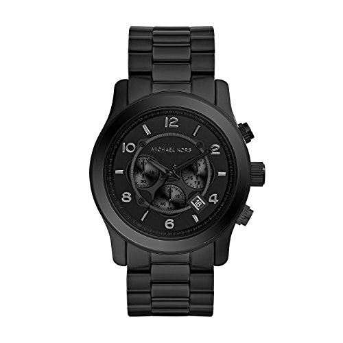 Michael Kors Watches Michael Kors Men's Black bracelet Chronograph Sport - Monochromatic Trio