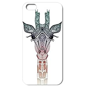 Best 5148320M32526244 Giraffe Pattern Style Hard Back Case Cover for iPhone 5C