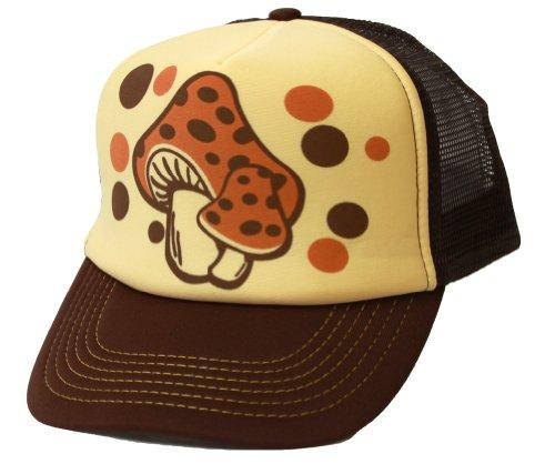 Mushroom Hollywood Trucker Mesh Hat