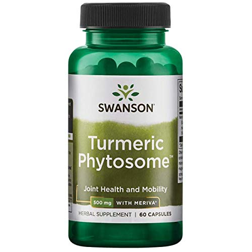 Swanson Turmeric Phytosome with Meriva 500 Milligrams 60 Capsules For Sale