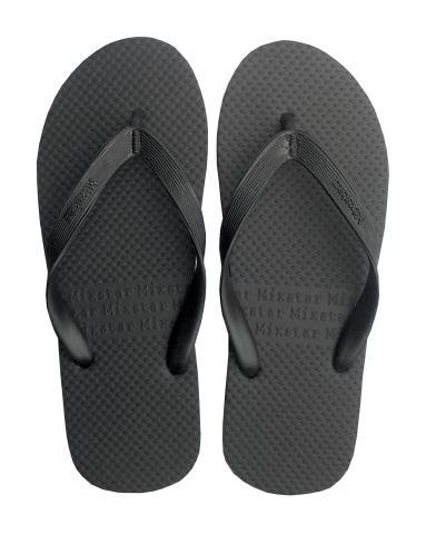 065dfcd1f MENS MIXSTAR FLIP FLOPS PLAIN BLACK RUBBER UK 7 8 9 10 11 12  Amazon.co.uk   Shoes   Bags