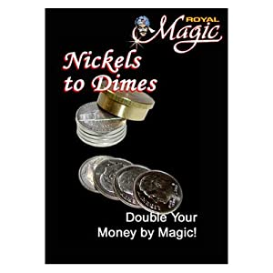MMS Nickles to Dimes by Royal Magic - Trick