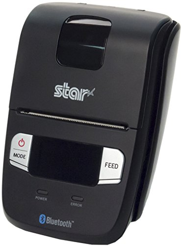 Star Micronics SM-L200 Compact and Portable Bluetooth Receipt Printer with Tear Bar – Supports iOS, Android, Windows
