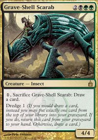 Grave Shell - Magic: the Gathering - Grave-Shell Scarab - Ravnica