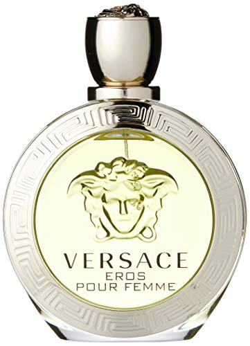 VERSACE Eros Eau de Toilette Spray for Women, 3.4 Ounce
