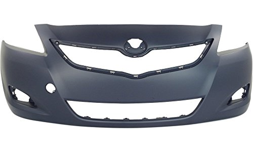 yaris front bumper cover - 3