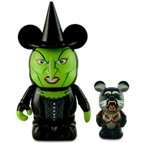 OZ The Great and Powerful Disney Vinylmation 3'' & Jr. Combo Pack Figure Wicked Witch & Baboon CUTE