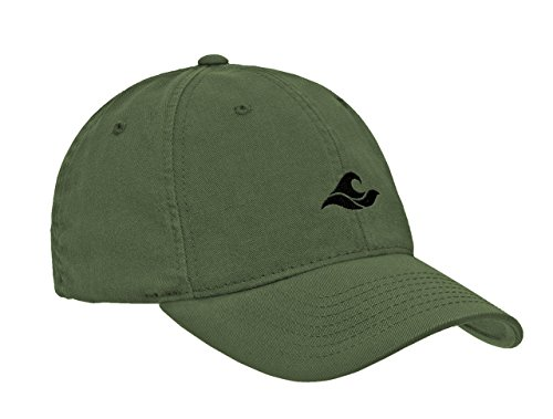 Koloa Surf Wave Logo Soft & Cozy Adjustable Baseball - Profile Low Logo Cap