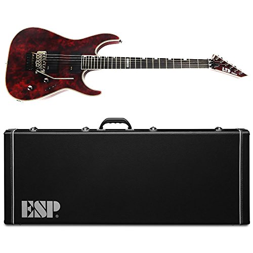Floyd Esp Rose (ESP LTD MH-1000 Volcano Red Electric Guitar with Floyd Rose, EMG Pickups, and Hardshell Case Gear Orphanage Exclusive)
