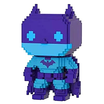 Entertainment Earth Batman Video Game Deco 8-Bit Pop! Figure - EE Excl: Toys & Games