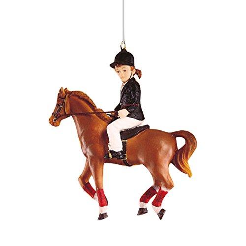 - C&F Home Little Girl Rider Ornament Multi