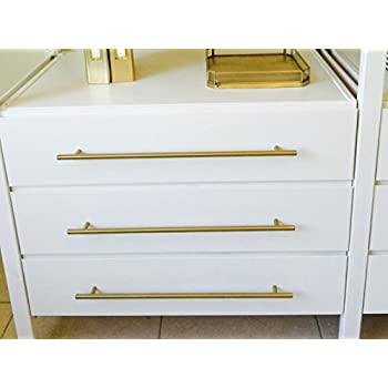 brass drawer pull brushed brass modern furniture drawer handle pulls kitchen cupboard t bar knobs