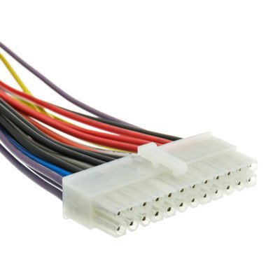 12 inch, ATX Power Supply Extension, 24 Pin ( 30 PACK ) BY NETCNA by NETCNA (Image #3)