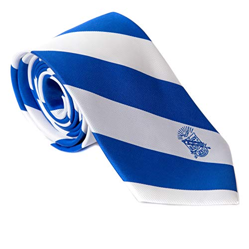 Phi Beta Sigma Fraternity Necktie Tie Greek Formal Occasion Standard Length Width (Stripped Crest Necktie)