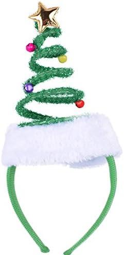 Cute Christmas Tree Headband Xmas Fancy Dress Party Costume Headwear