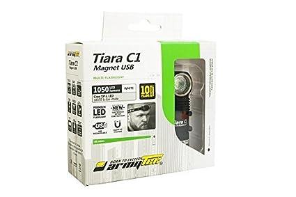 Armytek Tiara C1 Pro V3 Xp L Led Usb Rechargeable Headlamp 1050