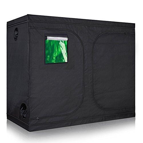 TopoLite 60 x60 x80 96 x48 x80 96x x96 x80 120 x60 x80 120 x120 x80 Grow Tent Plant Dark Room for Indoor Growing Plant Greenhouse Reflective Mylar 120 x60 x80 Metal Corner Window