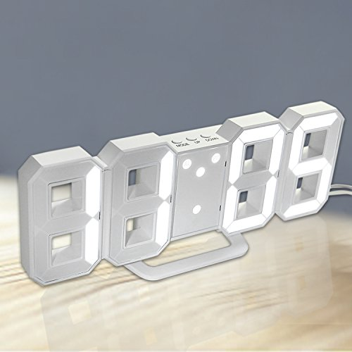 Wall Clock With Led Light - 5
