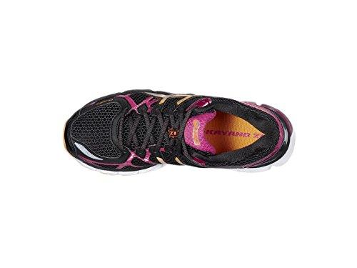 Asics Gel Kayano 21 (2A) T4J5N 9091, Women's Running Shoes, BlackLightningRaspberry, UK 6EU 39.5