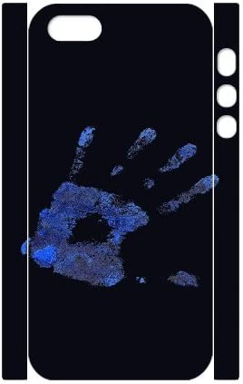3D iPhone 5,5S casos azul huella barato para chicas, iPhone 5s para hombres Kyle5v, [blanco]: Amazon.es: Electrónica