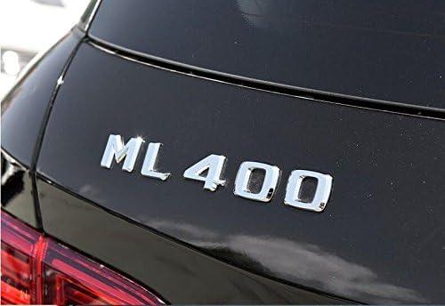 E815 Ml 400 Emblem Badge Auto Aufkleber Schriftzug Hinten Abzeichen Car Sticker Zahlziffer Chrom Ml 40 Auto