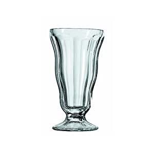 Anchor Hocking Classic Soda Fountain Glass, 12 Ounce (Pack of 4)