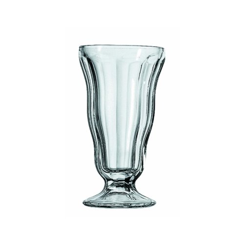 Fountain Anchor Hocking (Anchor Hocking Classic Soda Fountain Glass, 12 Ounce (Pack of 4))