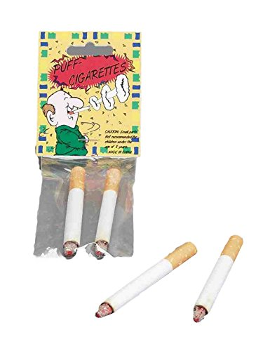 Forum Novelties - 2-Pack Fake Cigarettes, Puff Cigarettes ()