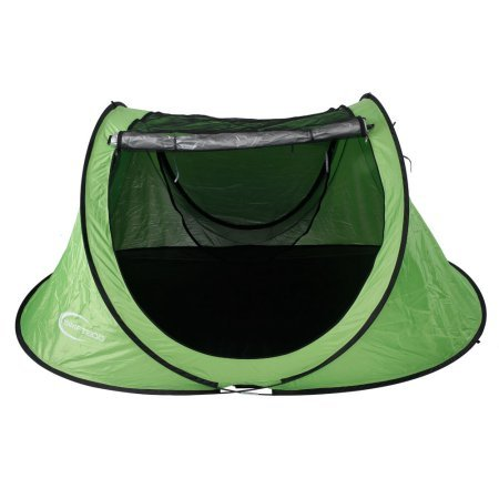 Large 3-4 Person UV-proof Camping Instant Tent Pop Up Hiking Beach Shelter – Green