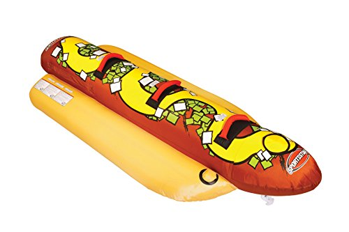 SPORTSSTUFF Hot Dog 3 Towable (Kwik Tek Double Dog)
