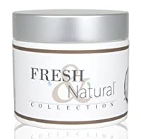 Fresh & Natural Skin Care Shea and Cocoa Body Butter, Coconut Vanilla, 4 Ounce