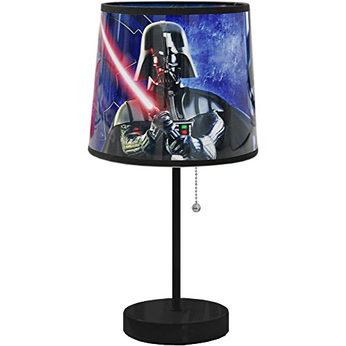 Star Wars Lighting Darth Vader Children Night Table Desk Floor Lamp Bedroom for Kids