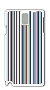 TUTU158600 Plastic Phone Case Back Cover case for samsung galaxy note3 for men - Vertical stripes of color combinations