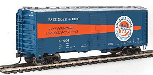 Walthers HO Scale 40' AAR 1944 Boxcar Baltimore & Ohio/B&O (Time-Saver) #467106