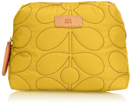 Orla Kiely Sixties Stem Quilted Wash Cosmetic Case by Orla Kiely