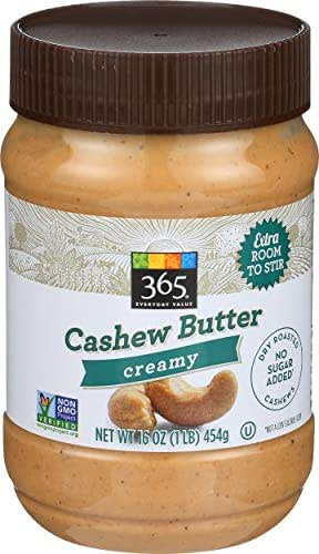Peanut & Nut Butters: 365 Everyday Value Cashew Butter